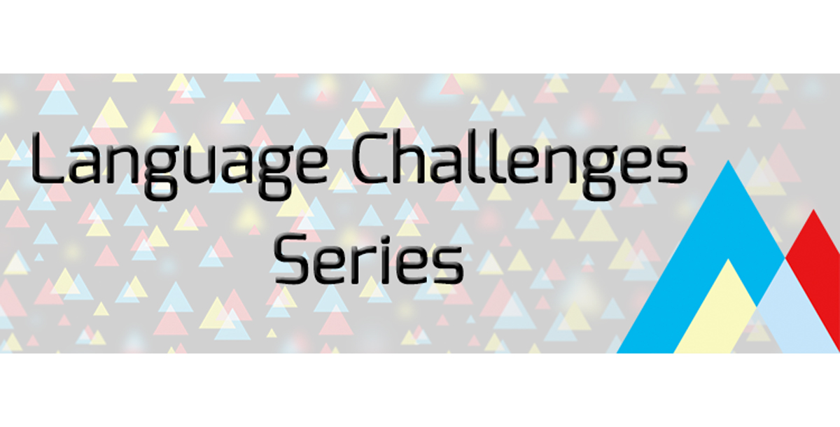"""Introducing-""""The-Language-Challenges-Series"""""""