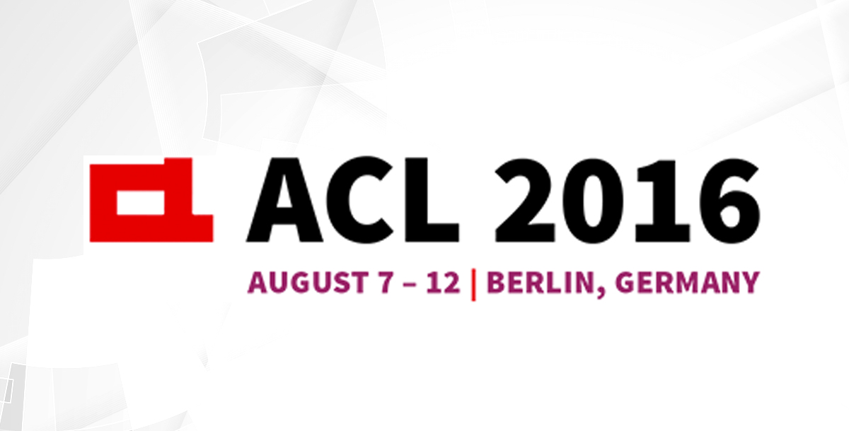 ACL Conference-Berlin-August 7-12