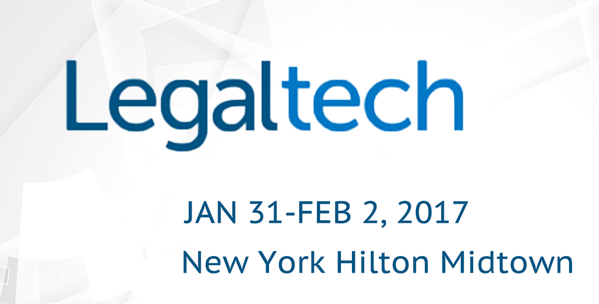 Legaltech - New York - January 31 - February 2