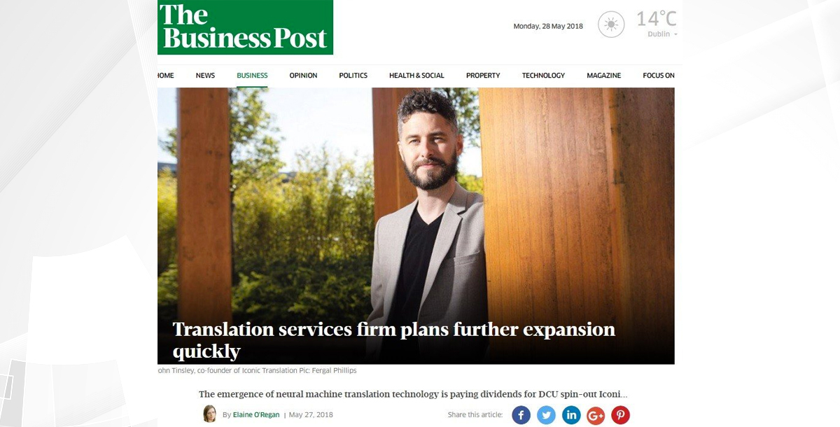 Iconic's-growth-featured-in-Sunday-Business-Post