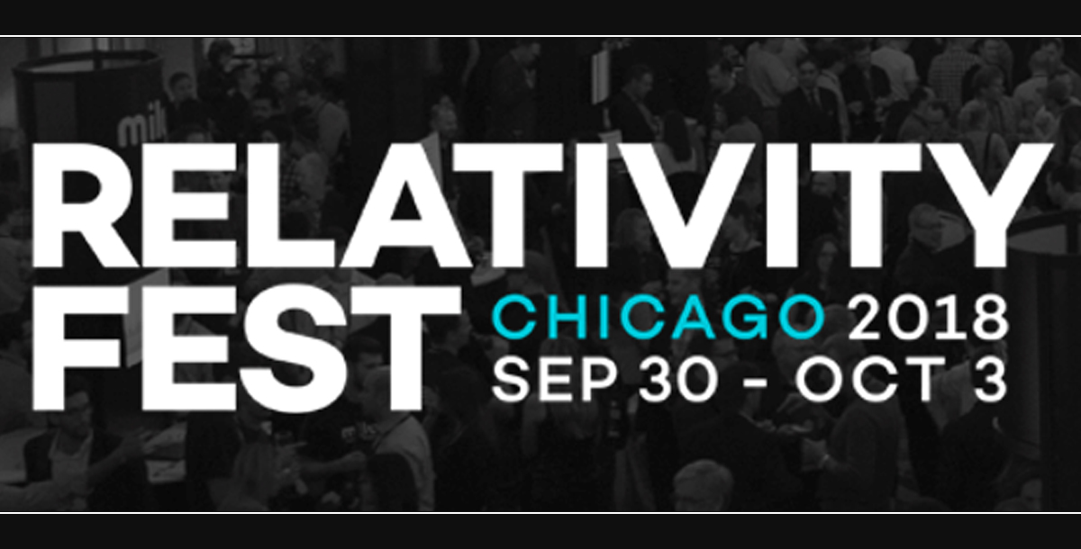 RelativityFest–Chicago–Sept30–Oct3