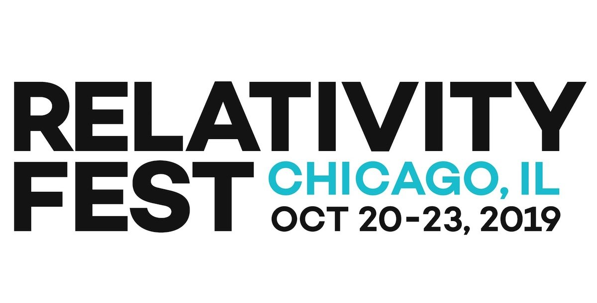Relativity Fest – Chicago – 20 – 23 October 2019