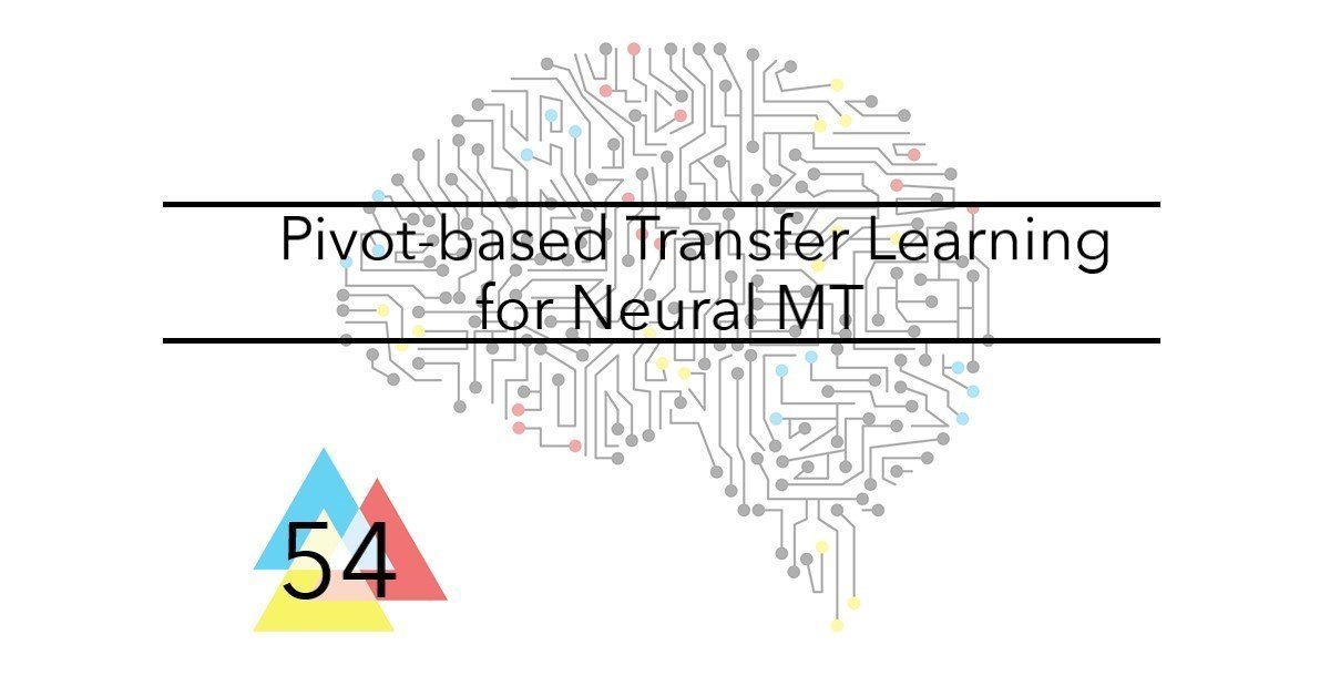NMT Issue 54 Pivot based transfer learning for NMT