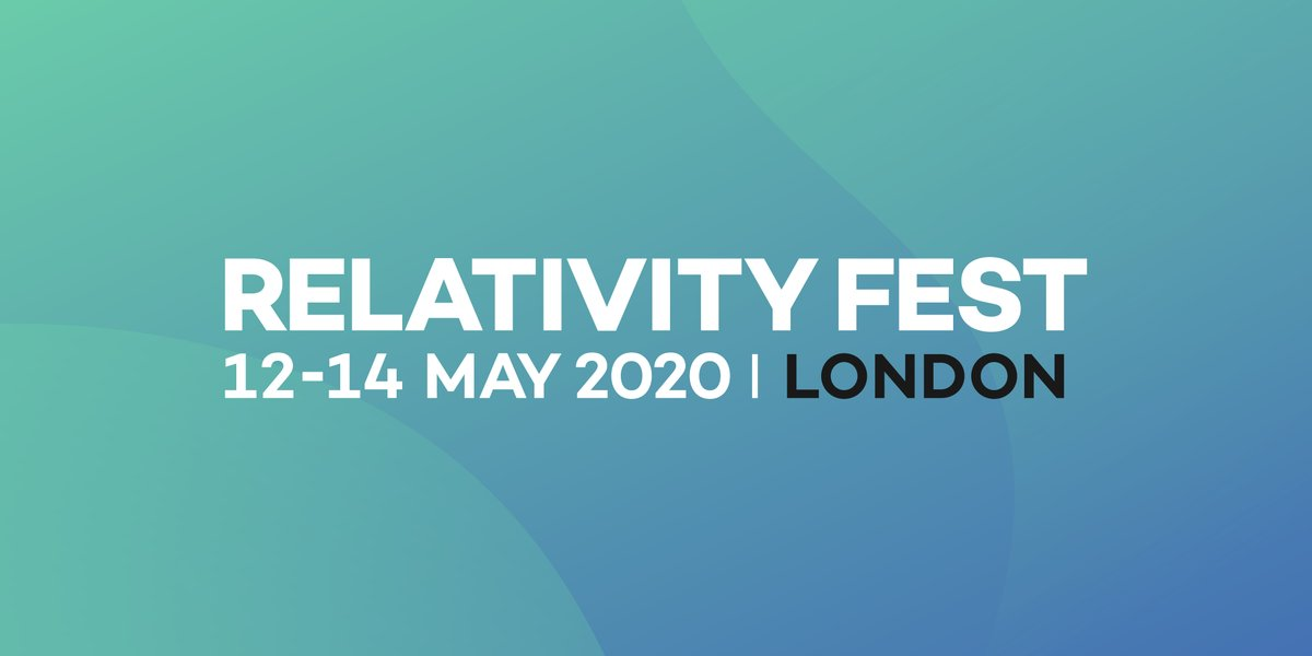 Relativity Fest London 12_14 May 2020