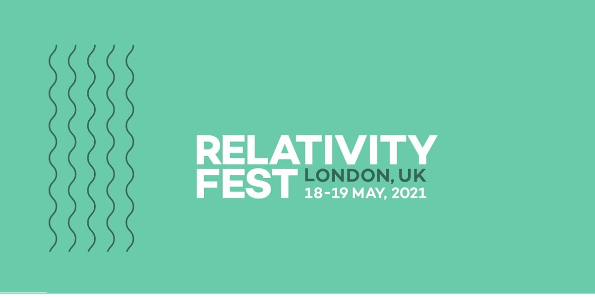 Relativity Fest London 2021 feature image